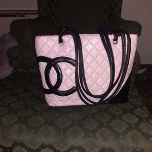 Chanel baby pink mint condition bag